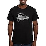 Wally's Bar Men's Fitted T-Shirt (dark)