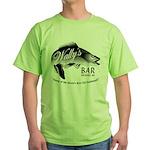 Wally's Bar Green T-Shirt