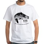 Wally's Bar White T-Shirt
