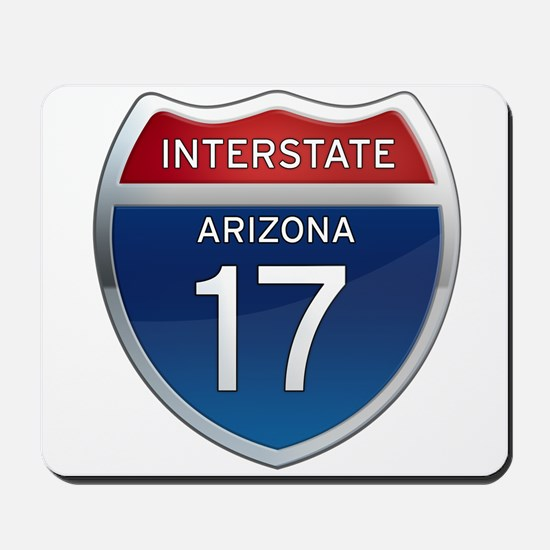 Interstate 17 - Arizona Mousepad
