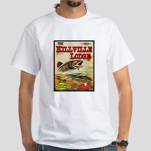 Angry Johnny-Killville Lodge White T-Shirt