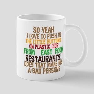 Fast Food Buttons Mug