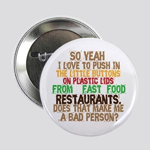 """Fast Food Buttons 2.25"""" Button"""