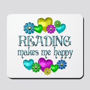 Reading Happiness Mousepad