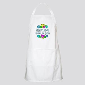 Reading Happiness Apron
