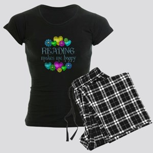 Reading Happiness Women's Dark Pajamas