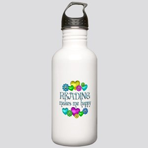 Reading Happiness Stainless Water Bottle 1.0L