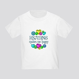 Reading Happiness Toddler T-Shirt