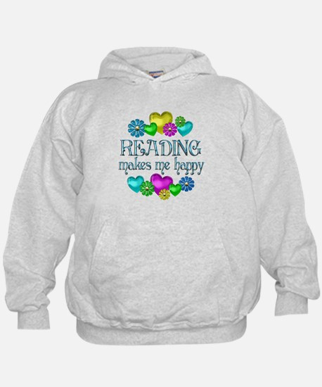 Reading Happiness Hoodie
