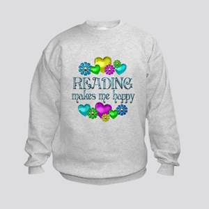 Reading Happiness Kids Sweatshirt