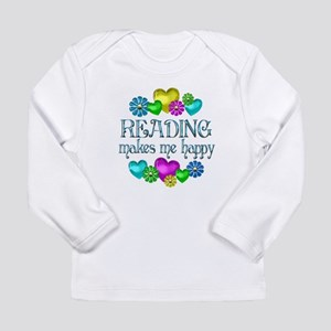 Reading Happiness Long Sleeve Infant T-Shirt