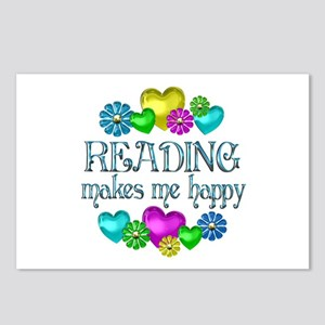 Reading Happiness Postcards (Package of 8)