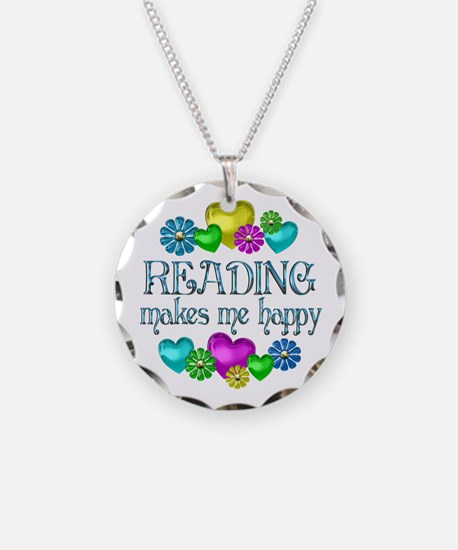 Reading Happiness Necklace