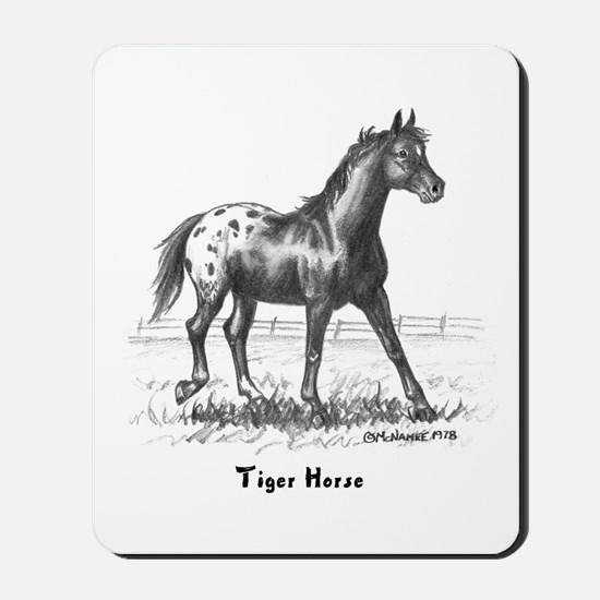 Tiger Horse Mousepad