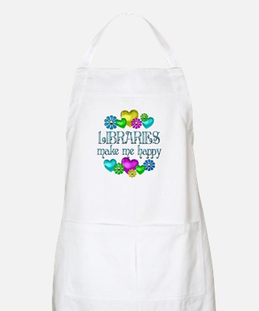 Library Happiness Apron