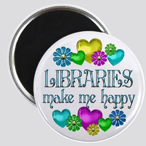Library Happiness Magnet