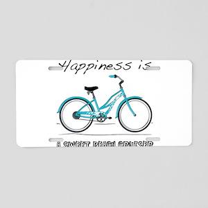 Happiness is a Beach Cruiser Aluminum License Plat