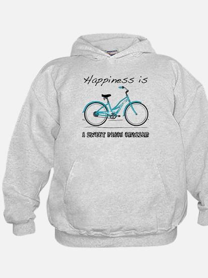 Happiness is a Beach Cruiser Hoodie