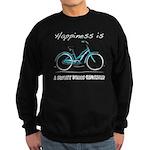 Happiness is a Beach Cruiser Sweatshirt (dark)