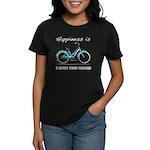 Happiness is a Beach Cruiser Women's Dark T-Shirt