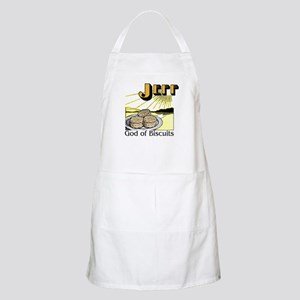 Jeff, God of Biscuits BBQ Apron