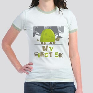 My First 5K Turtle Jr. Ringer T-Shirt