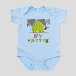 My First 5K Turtle Infant Bodysuit