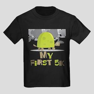 My First 5K Turtle Kids Dark T-Shirt