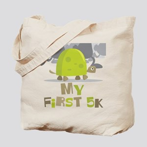My First 5K Turtle Tote Bag