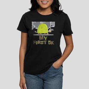 My First 5K Turtle Women's Dark T-Shirt