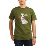 Wife Ranching Organic Men's T-Shirt (dark)
