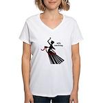 Wife Ranching Women's V-Neck T-Shirt