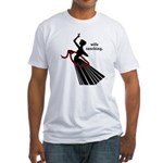 Wife Ranching Fitted T-Shirt