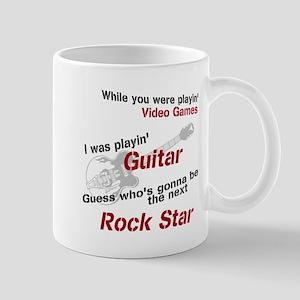 Playin' Guitar Mug
