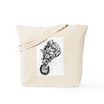 Pen & Ink Motocross Tote Bag
