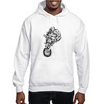 Pen & Ink Motocross Hooded Sweatshirt
