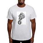 Pen & Ink Motocross Light T-Shirt