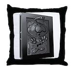 Carbon Character Throw Pillow