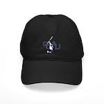 Retro Hockey Black Cap