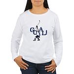Retro Hockey Women's Long Sleeve T-Shirt