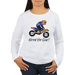 Shred the Gnar Women's Long Sleeve T-Shirt