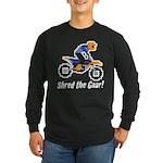 Shred the Gnar Long Sleeve Dark T-Shirt