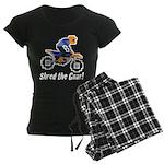 Shred the Gnar Women's Dark Pajamas