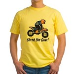 Shred the Gnar Yellow T-Shirt
