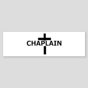 Chaplain Sticker (Bumper )