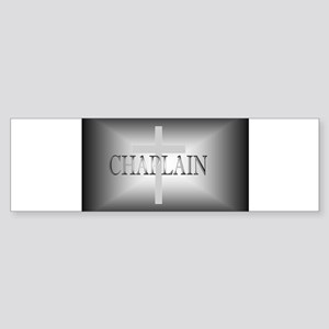 Chaplain Grey/Grey Sticker (Bumper)