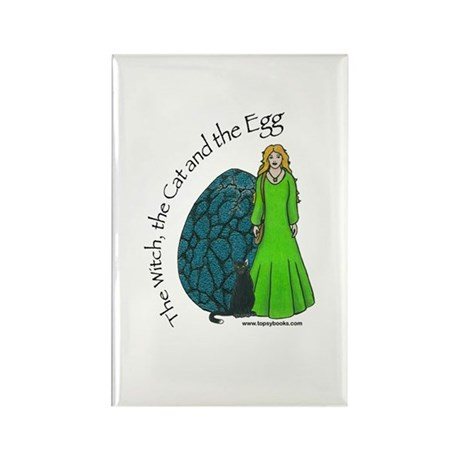 The Witch Rectangle Magnet
