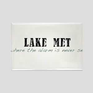 Lake Met Alarm Rectangle Magnet