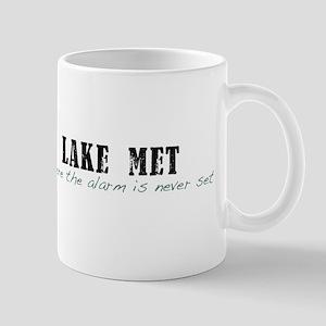 Lake Met Alarm Mug