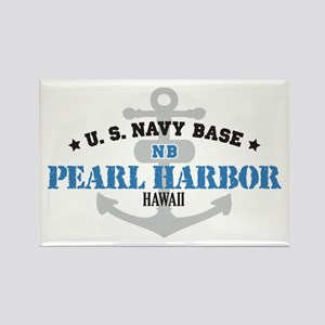 US Navy Pearl Harbor Base Rectangle Magnet
